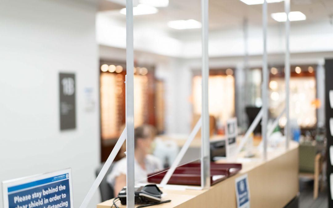 Inland Commercial Casework: Plexiglas Shields Spokane